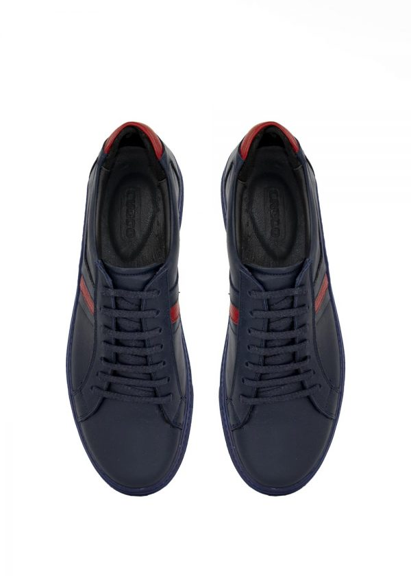 کفش کتانی مدل 6008 چرم کروکو