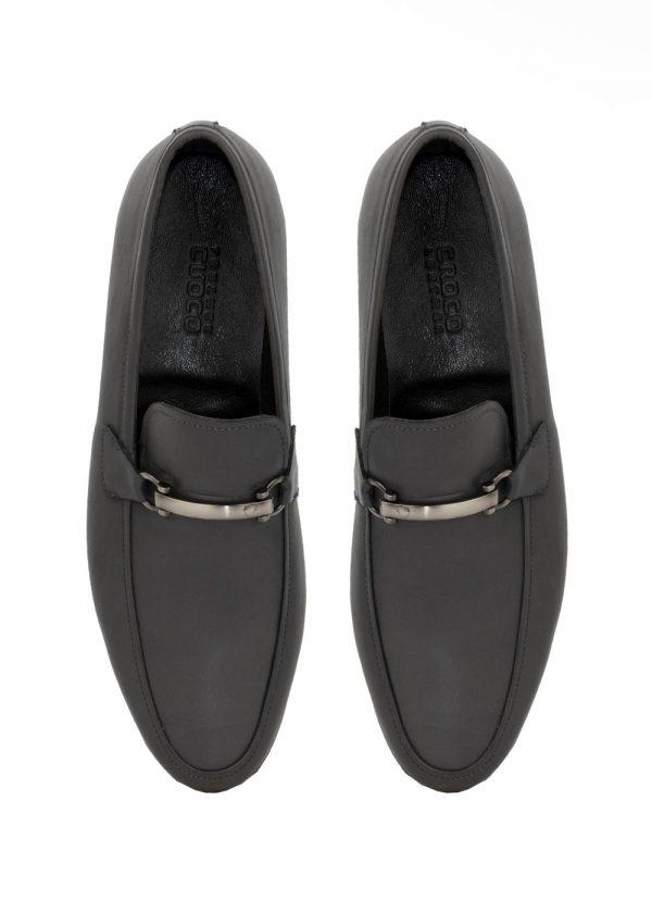 کفش کالج مدل 2021 چرم کروکو