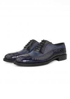 کفش مدل 6022 چرم کروکو