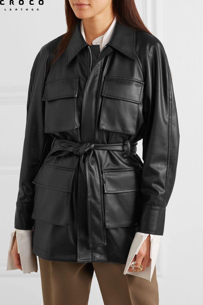 کت چرمی زنانه