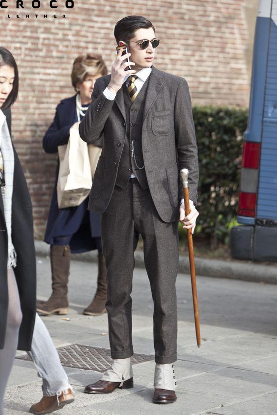 عصا کلاسیک قهوه ای
