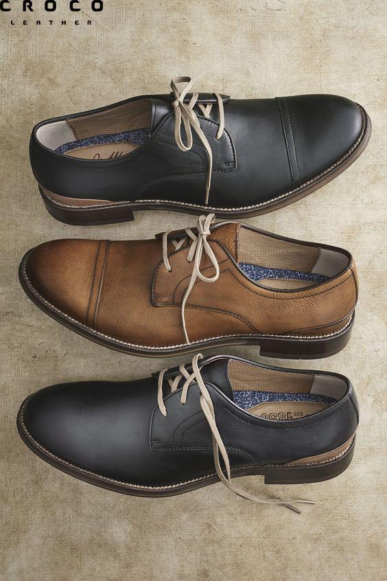 کفش چرم مات