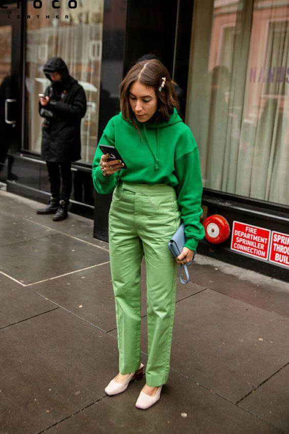 استایل سبز