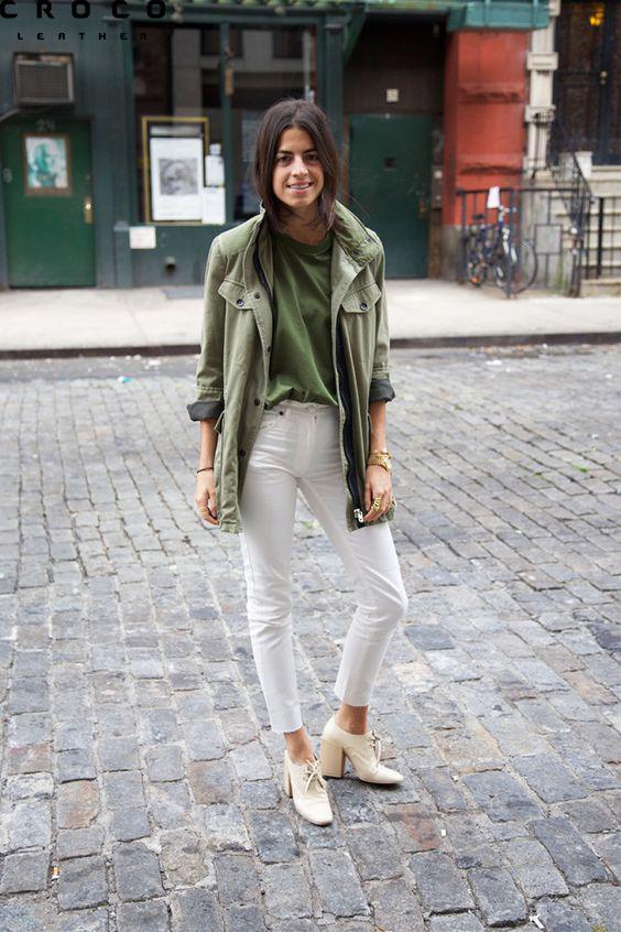 کت زنانه با رنگ سبز